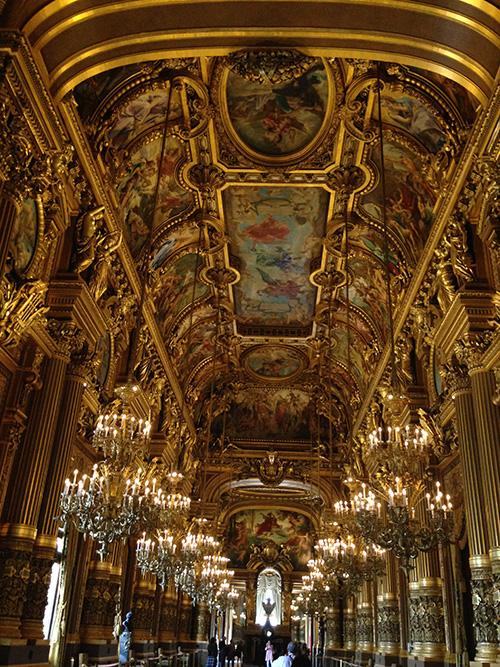 Palais Garnier, the famous Paris Opera House