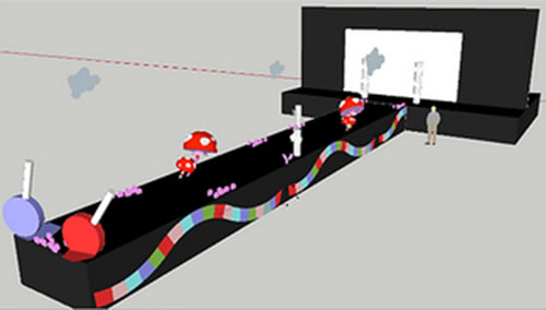 confectory planning 3d image