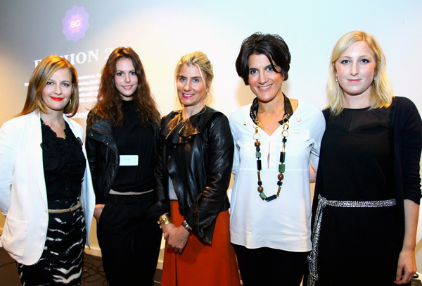 Fashion experts at LIM College Sponsored Event