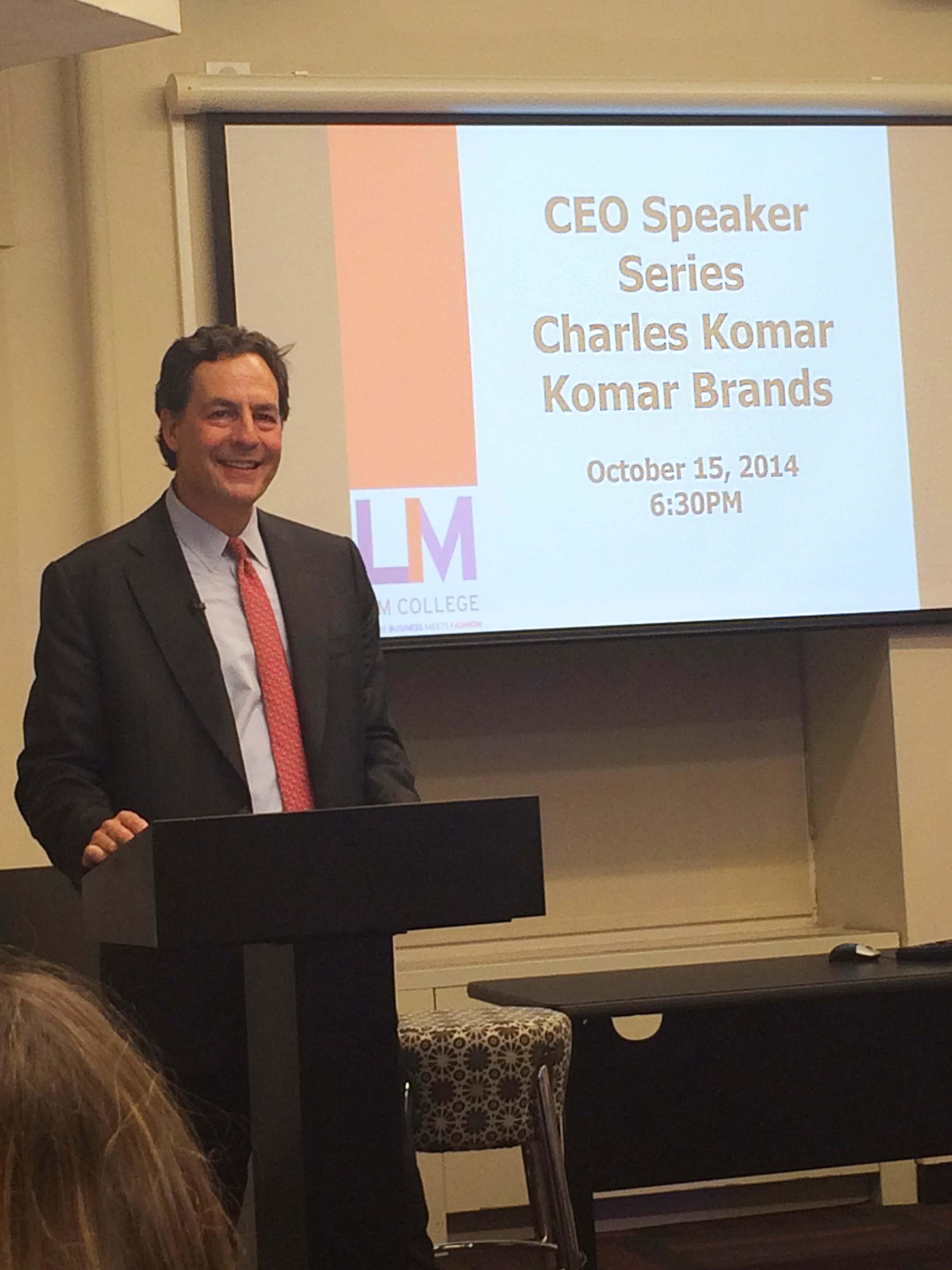Charlie Komar at LIM