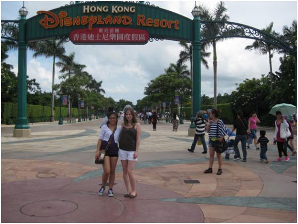 K  Institutional Advancement Photos Blogs Study Abroad China 2011 disneyland resized 600