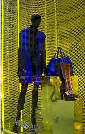 Versace mannequin
