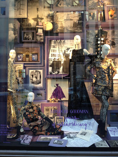 The beautiful windows of Bergdorf Goodman (Winter 2012)