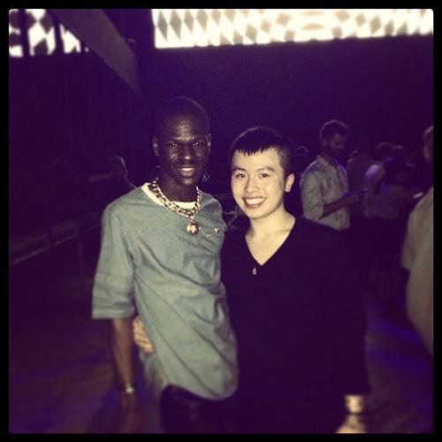 Aaron Ku and Kingsley