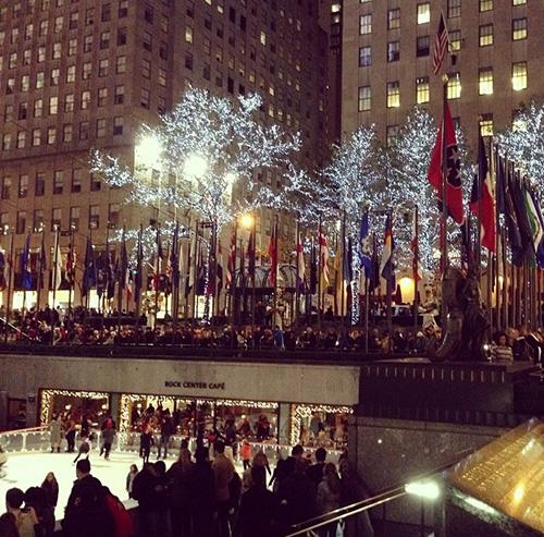 Rockefeller Center in Winter