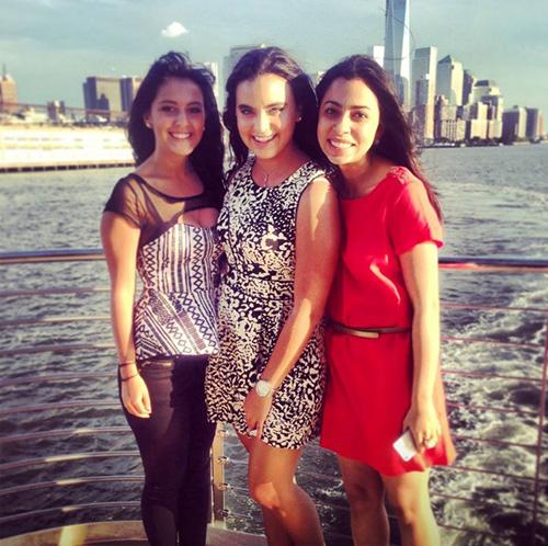 Summer on boat