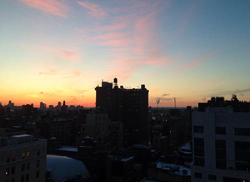NYC building top