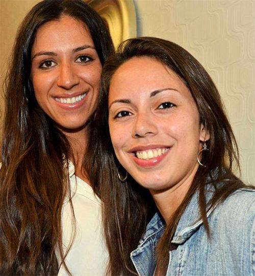 Carla and Caroline