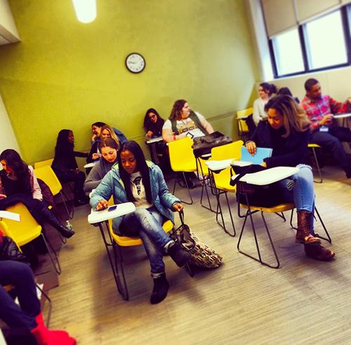 LIM College class