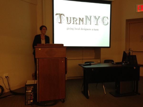 Nicole's Capstone Presentation of TURN NYC at LIM COLLEGE