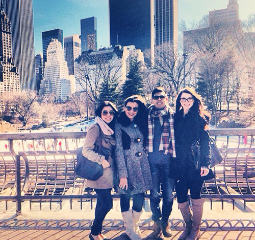4 people in central park