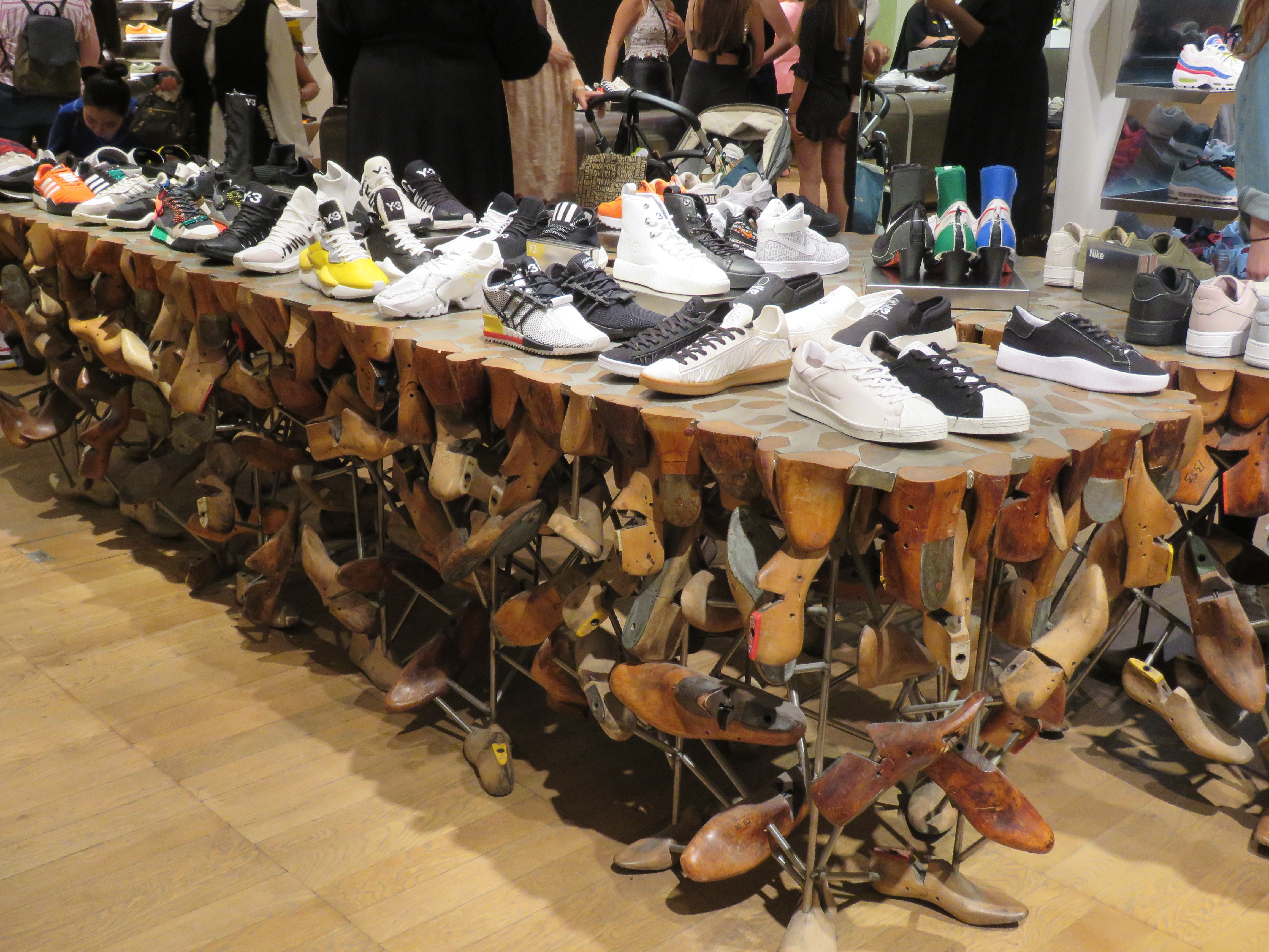 IMG_0654-shoe display at Selfridges