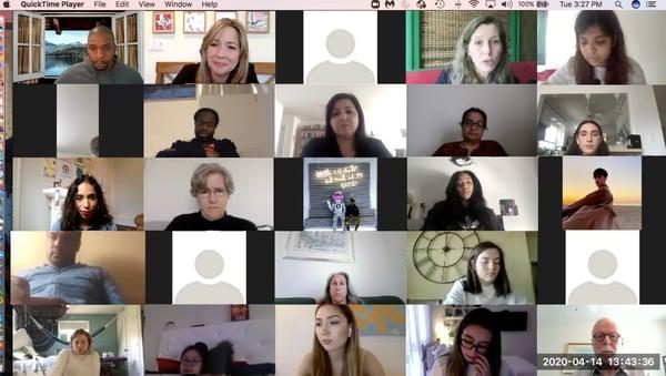 K. Gore class visit - screenshot