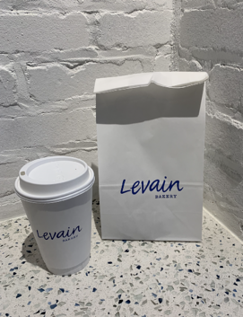 Levain coffee and bag