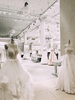 Kleinfeld Bridal Showroom