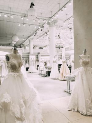 Kleinfeld Bridal Showroom