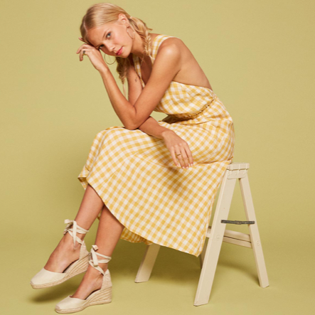 sqaure yellow gingham dress.png
