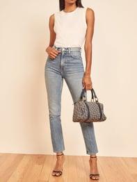 Malta Stevie Ultra High Rise Jean, Comfort Stretch