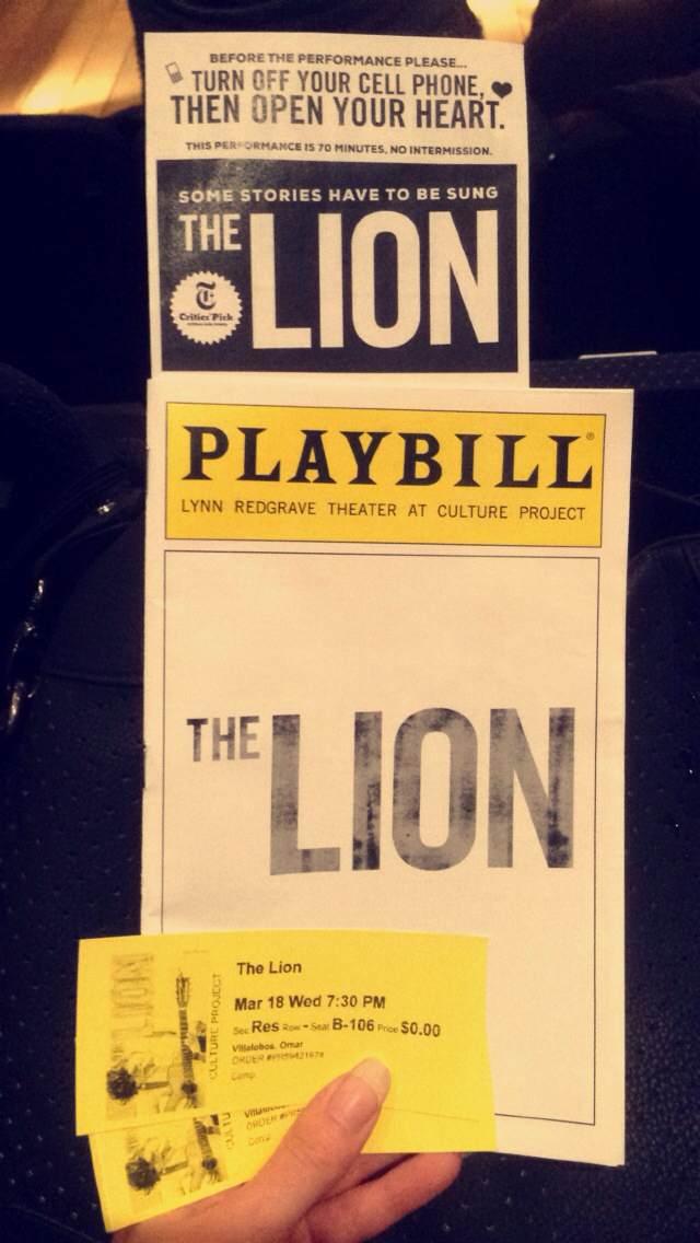 The_Lion_Playbill