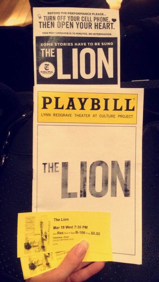 The_Lion_Playbill