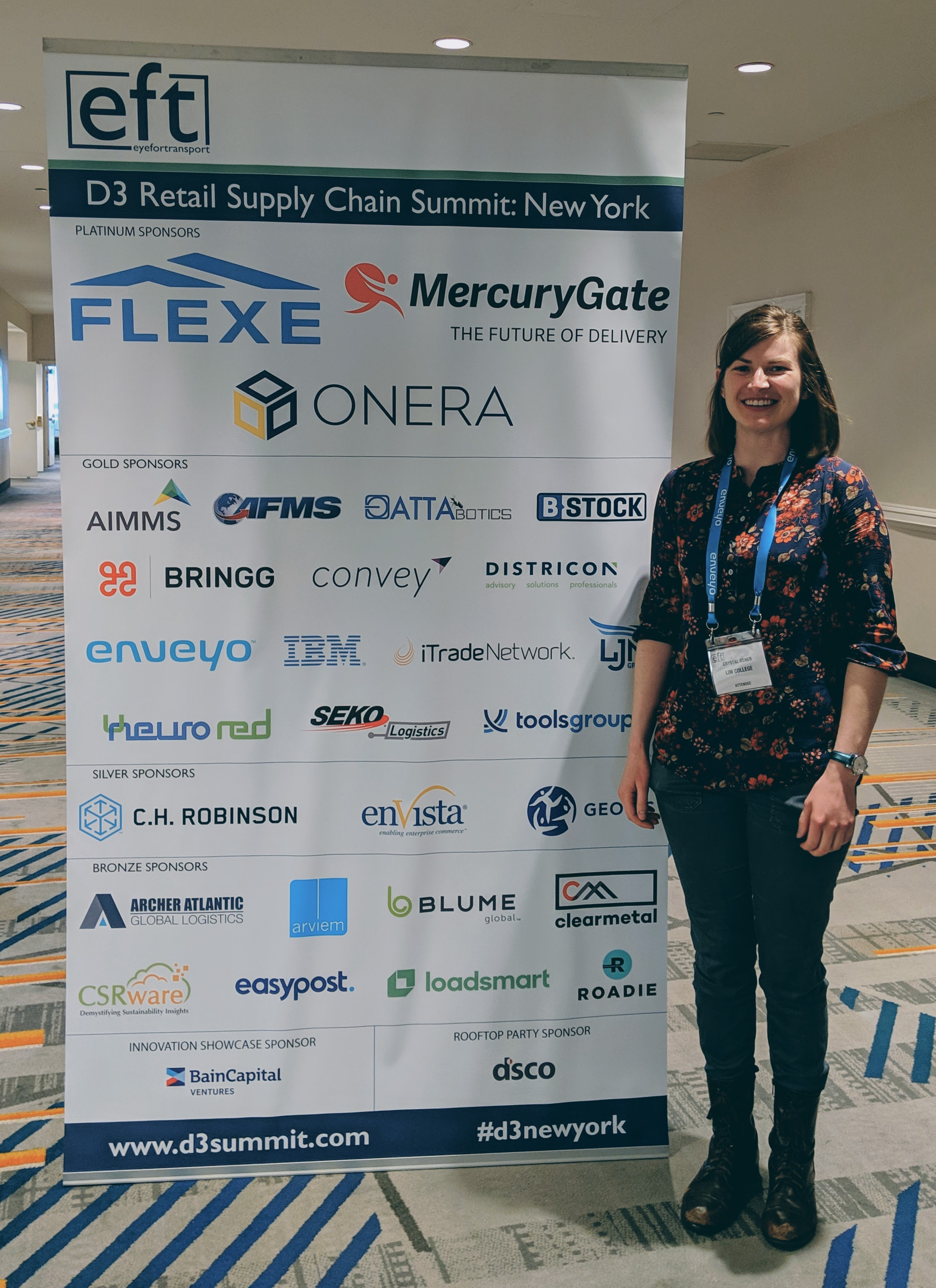crystal osner - d3 supply chain summit